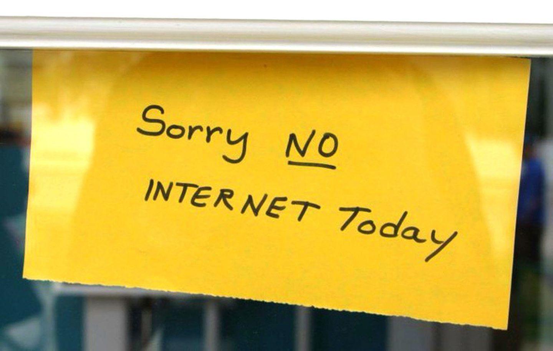 ماذا لو اختفى الانترنت ليوم واحد فقط؟