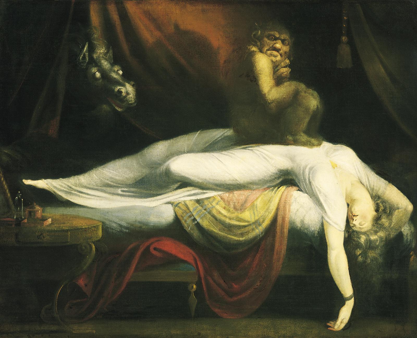هنري فوسيلي - الجاثوم 1781