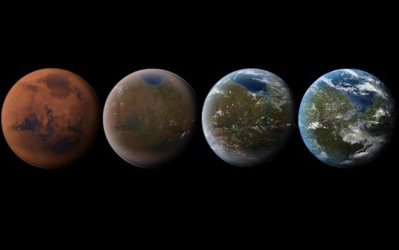 كيف نجعل المريخ صالحا للحياة؟