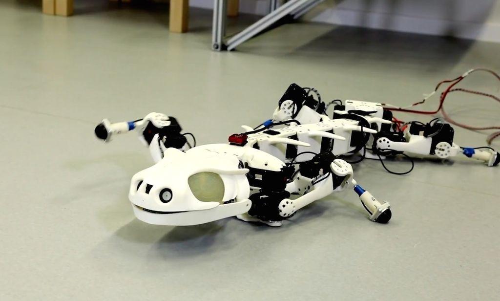 الروبوتات الحيوية روبوتات تشبه الحيوانات الأعمال الميكانيكية الحيوية الروبوت الشبيه بالفهد الصياد روبوتات حديثة الحيوانات الميكانيكية