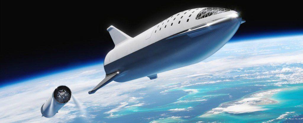 إيلون ماسك قام حتى الآن فقط بنظرة استكشافية للصاروخ الذي سيسافر إلى القمر والمريخ!