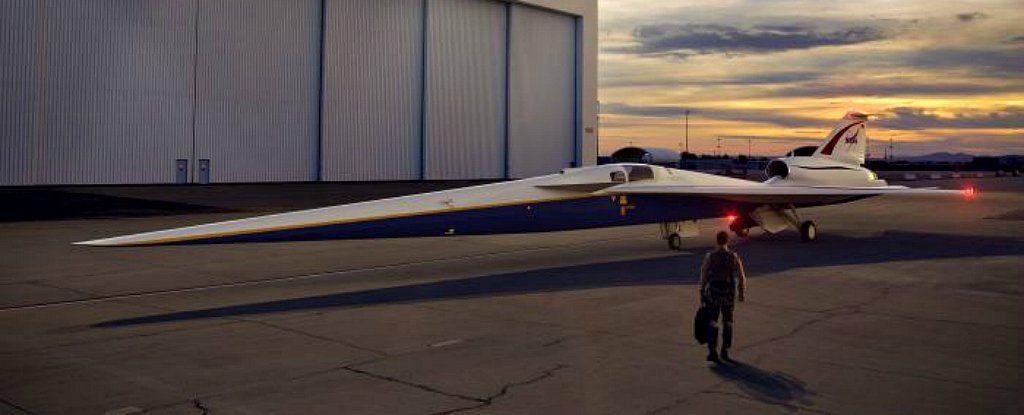 ناسا بدأت في تشيد طائرة فوق صوتية فائقة الهدوء