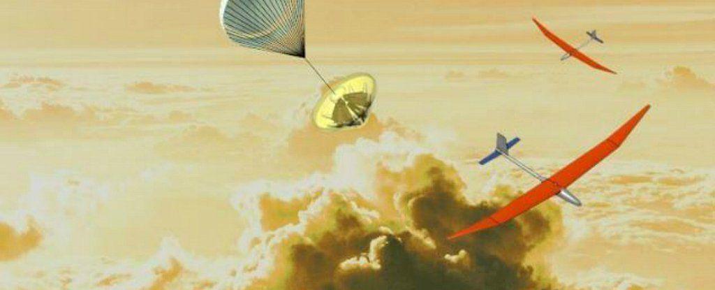 يحدث الآن : ناسا تعمل على طائرات بدون طيار يمكنها أن تنجو من جحيم الغلاف الجوي لكوكب الزهرة