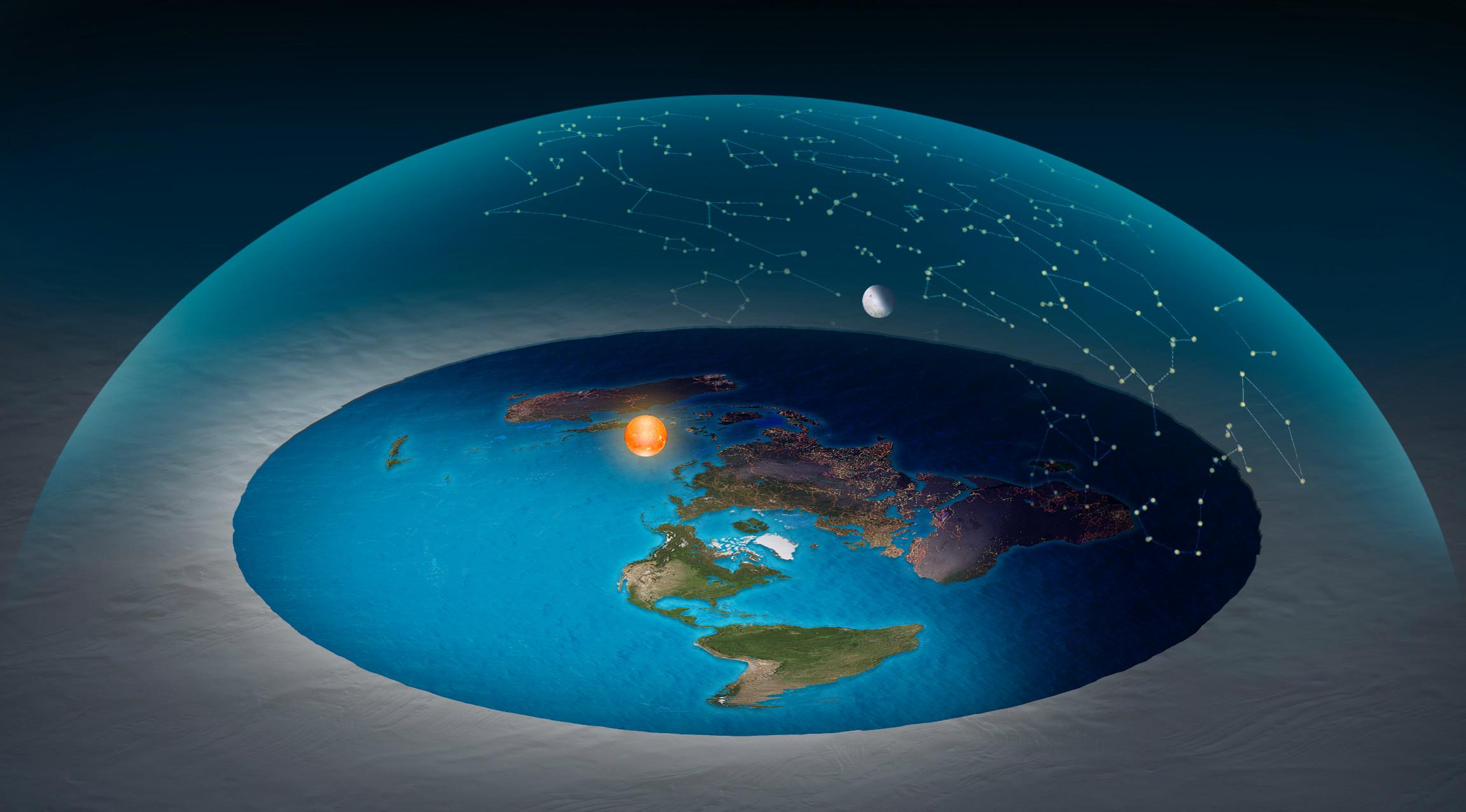 ماذا لو كانت الأرض مسطحة ؟ - حقيقة كروية الأرض منذ آلاف السنين - مجتمع الأرض المسطحة - إنكار حقيقة أن الأرض كروية الشكل - تسطح الأرض