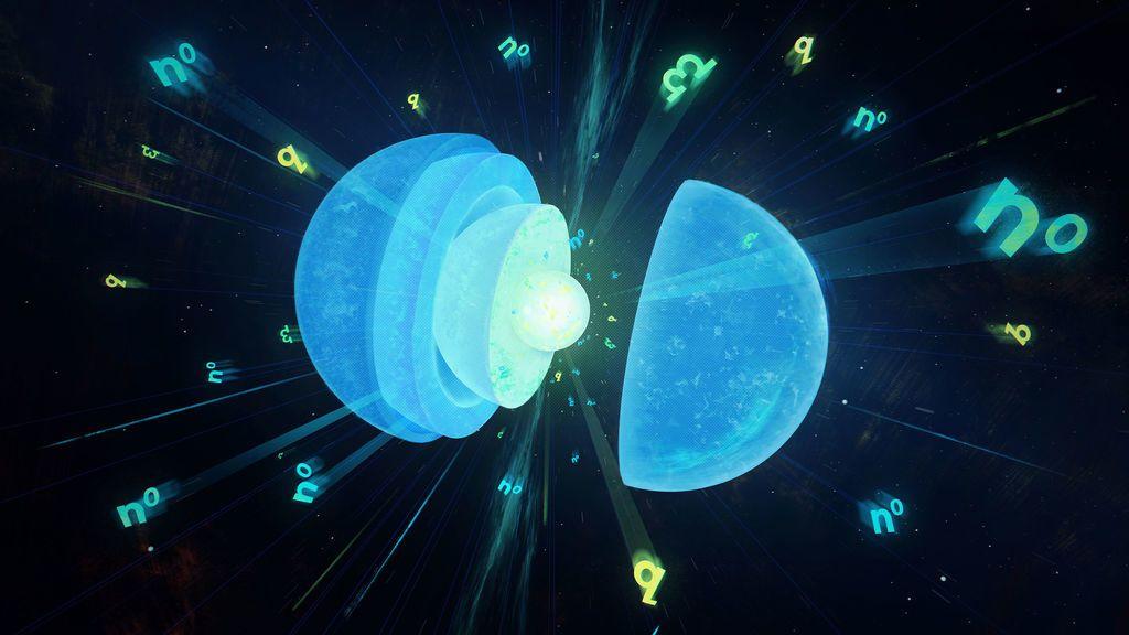 ما هو النجم النيوتروني كيف يتشكل النجم النيوتروني النجوم النابضة نجم ذو كتلة ضخمة وحجم صغير جاذبيته عالية كتلة النجوم النابضة