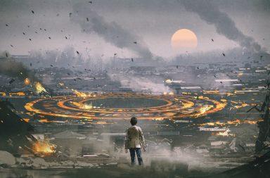 بناء نظام تشغيل ليعمل بعد انتهاء العالم الأماكن الناجية من بعد وقوع كارثة مروعة على الأرض استخدام الانترنت على الأرض بعد نهاية العالم