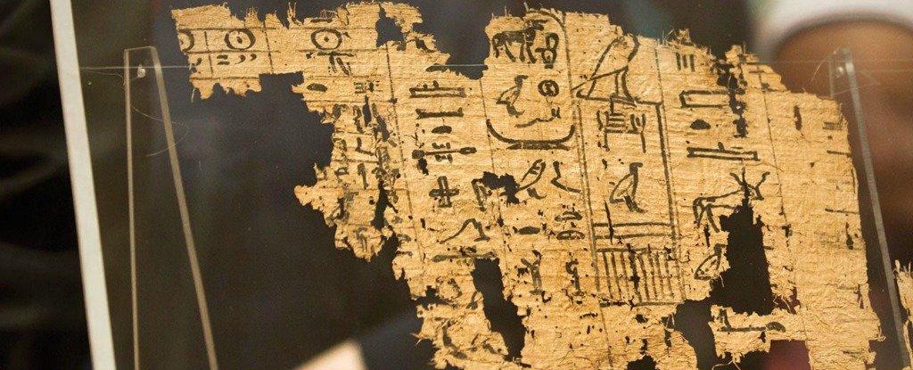 اكتشاف أقدم البرديات المصرية بعمر 4,500 سنة