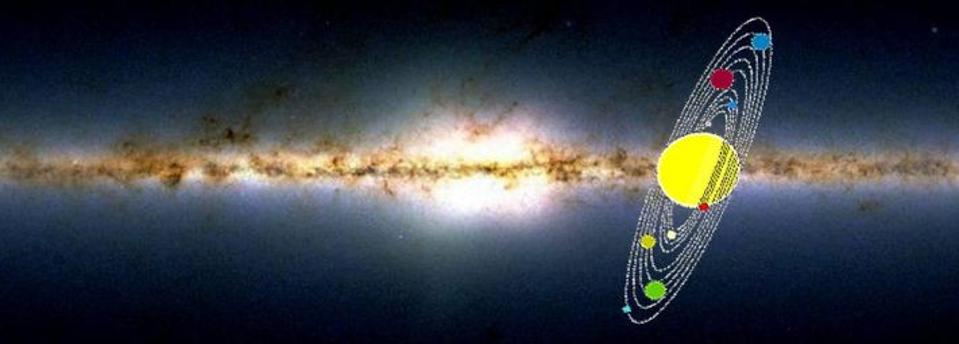 حركتنا في الفضاء ليست حركة دوامية، بل شيء أكثر إثارة - تريليونات الأجرام التي تدور حول مركز المجرة في دورات تستغرق مئات الملايين من السنين