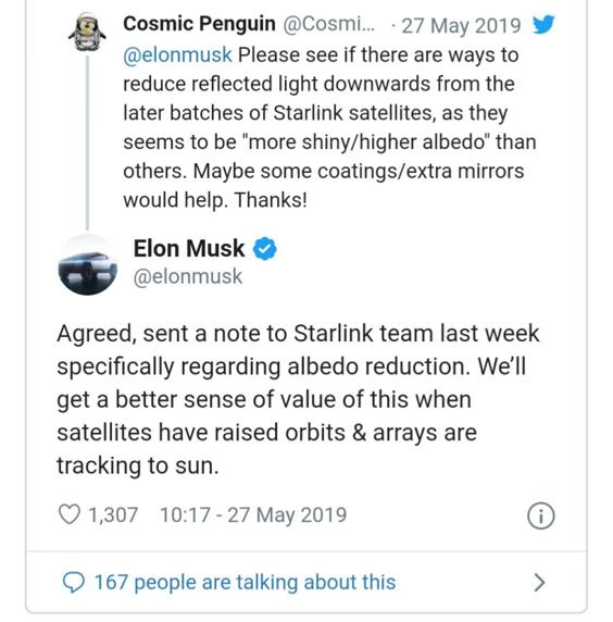 مشكلة ستارلينك التي كان الفلكيون قلقين حيالها تتحقق الآن! - تُعَد الأقمار الصناعية جزءًا أساسيًّا من حياة علماء الفلك في العصر الحديث