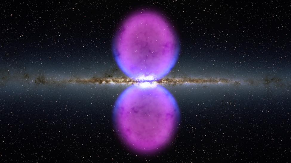 تكوين الفقاعة Fermi bubble