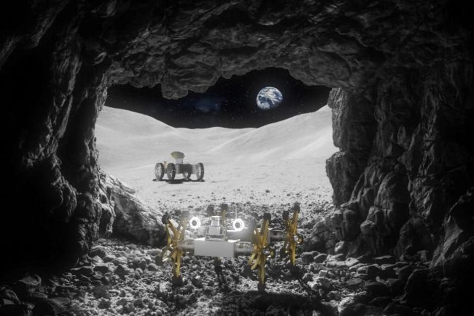 يمكن لهاتين المركبتين التوأم استكشاف القمر سويا يوما ما - مشروع يسمى تريلير Trailer - اثنين من الروبوتات معًا في أي رحلة مستقبلية للقمر