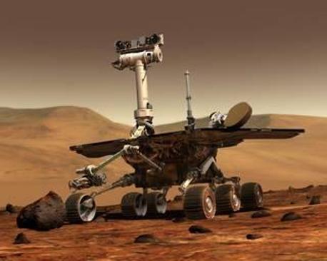سبيريت: أحد الروبوتات التي استكشفت المريخ من سطحه أو مداره