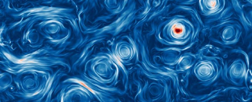 الفوضى البيضاء للحقول المغناطيسية قد تفسر التألق الشديد للثقوب السوداء - الأضواء الأكثر سطوعًا في الكون - الحقول المغناطيسية المحيطة بالثقوب السوداء