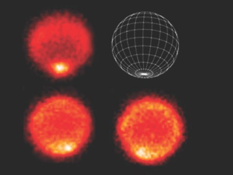 القطب الجنوبي الحار لنيبتون تُظهره الصور الحرارية التي التقطها تلسكوب VLT