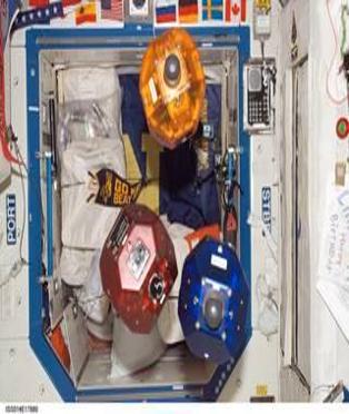 سفيرز روبوتات اختُبرت في محطة الفضاء الدولية