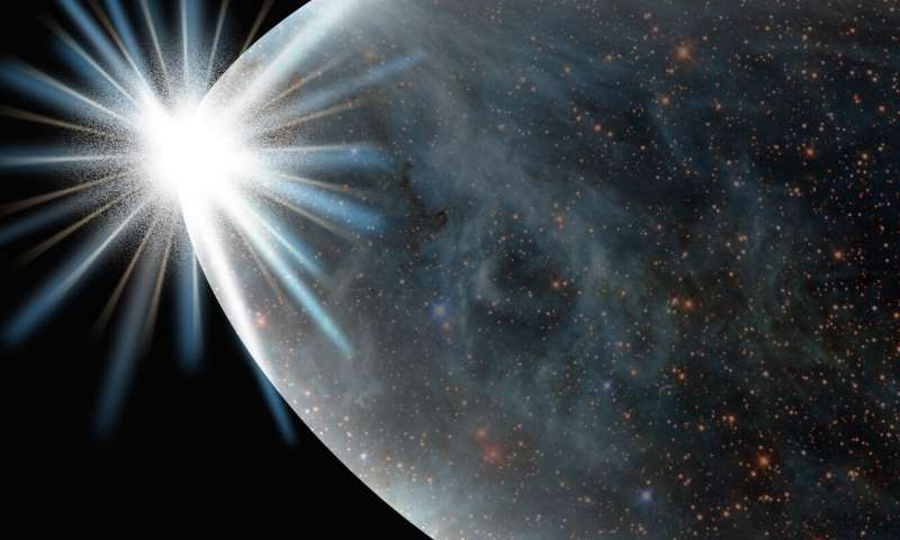 علماء ينفذون محاكاة لمرحلة إعادة التسخين التي حركت الانفجار الكبير - توسع الكون في صورة كرة ملتهبة شديدة الكثافة متناهية الصغر من المادة