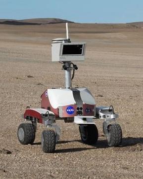 K10 روبوت استكشف الحفر والحمم والصحاري لمساعدة المستكشف البشري