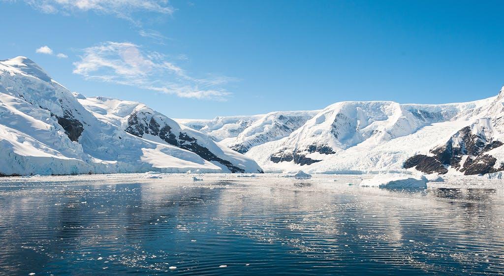 مشهد طبيعي في الفطب الشمالي