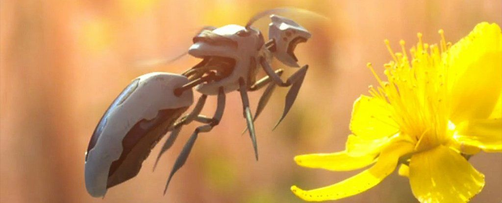 تحية لمسلسل بلاك ميرور: النحل الصناعي لم يعد خيالًا علميًا