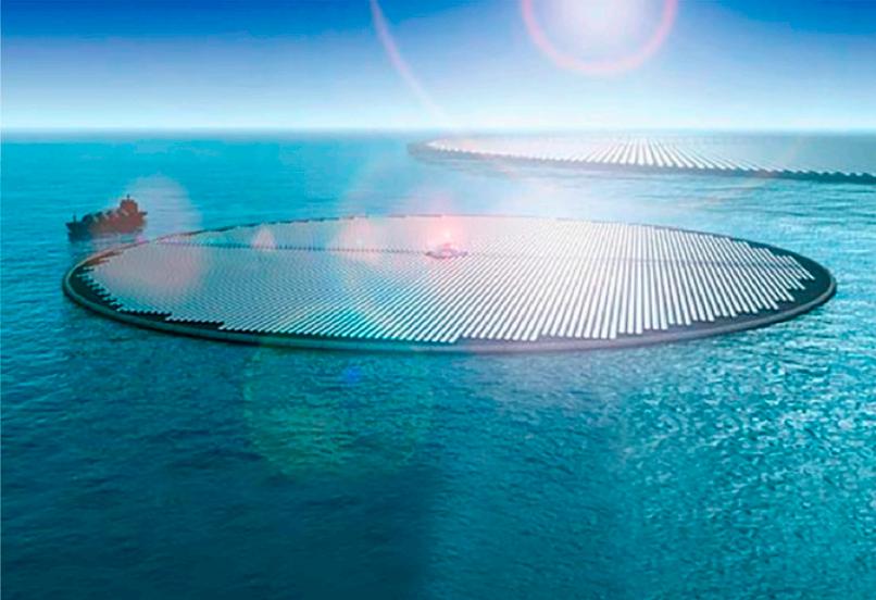 جهاز مذهل يعمل على تحلية مياه البحر باستخدام الطاقة الشمسية