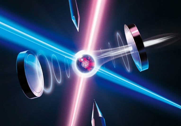 تمكن باحثو الكَمّ من تقسيم فوتون واحد إلى 3 أجزاء - تقنية التبديل الوسطي الخافض للتواتر التلقائي SPDC في الضوئيات الكَمِّيَة