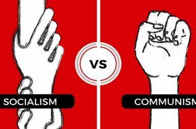 ما الفرق بين الشيوعية والاشتراكية الأحزاب اليسارية الشمولية سياسة الحزب الواحد النظريات الاقتصادية المعاكسة للرأسمالية الاتحاد السوفييتي