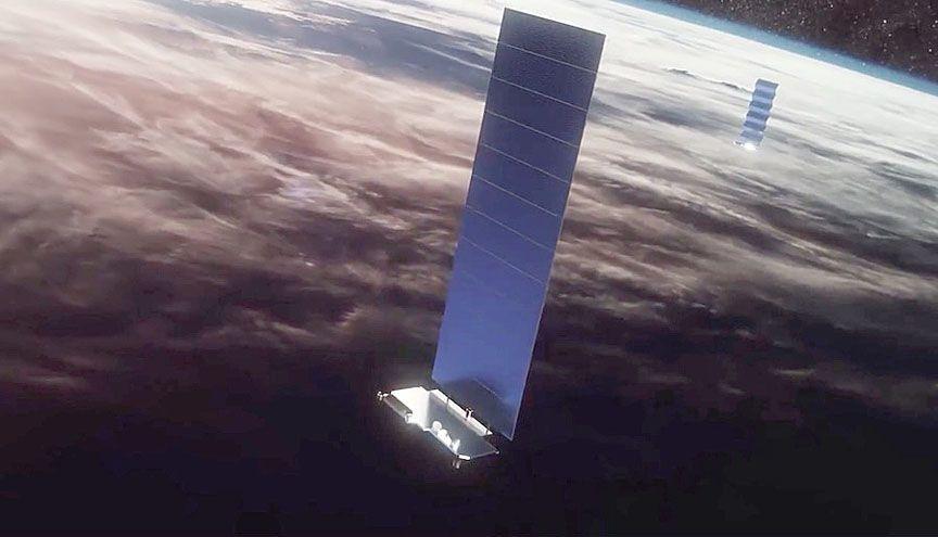 ظهور مشاكل في أسطول الأقمار الصناعية لشركة سبيس إكس عدد الأقمار الصناعية النشطة في مداراتها مجموعة ستارلينك وكالة الفضاء الأوروبية ESA