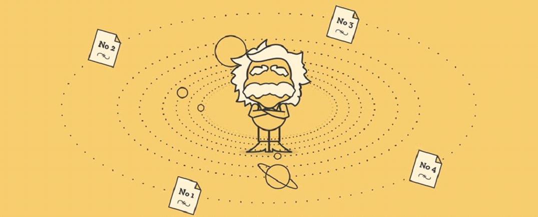 كيف غير اينشتاين مجرى العلم باربع اوراق بحثية ؟