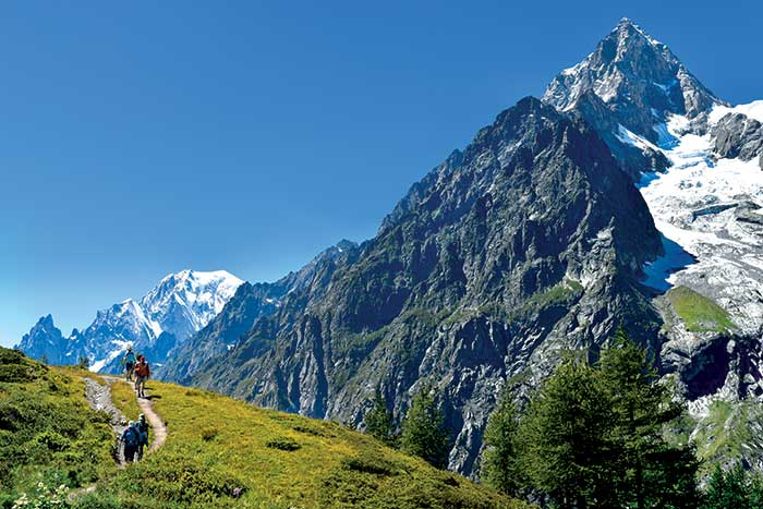 كيف تشكلت جبال الألب ؟