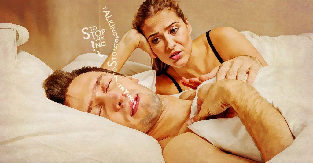 لماذا يتكلم البعض أثناء نومهم؟