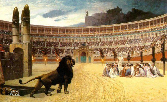 هل يمكن أن تتحمل الرعب الذي كان يحصل في مدرجات روما القديمة؟