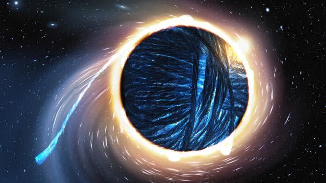 الثقوب السوداء ومفارقة المعلومات في نظرية الأوتار