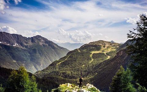 كيف تشكلت جبال الألب alps-iStock-81747205
