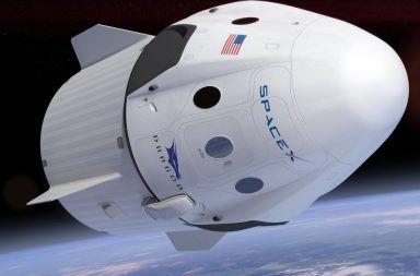 ناسا منزعجة بسبب صاروخ إيلون ماسك العملاق أول سفينة فضاء مجهزة لحمل البشر تصممها شركة سبيس إكس سفينة الفضاء كرو دراجون Crew Dragon