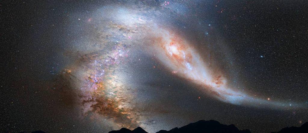 العنوان: ترى من سينجو من جراء الاصطدام الكوني بين مجرتنا وجاراتها