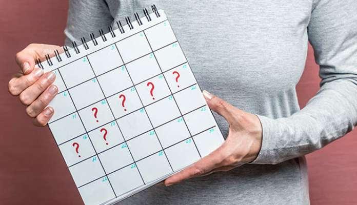 أسباب اضطراب الدورة الشهرية - الفترة المُمتدة من اليوم الأول لبداية الطمث إلى بداية الطمث التالي - عدم انتظام الدورة الشهرية