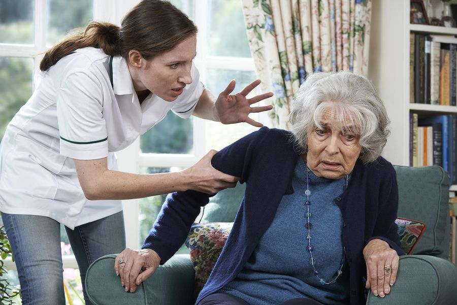 إساءة معاملة كبار السن