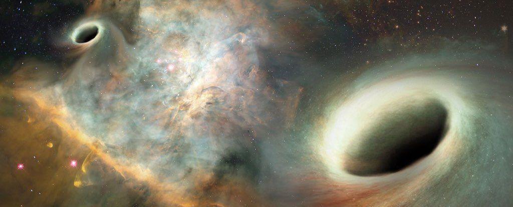 لأول مرة: رصد دوران ثقوب سوداء حول بعضها