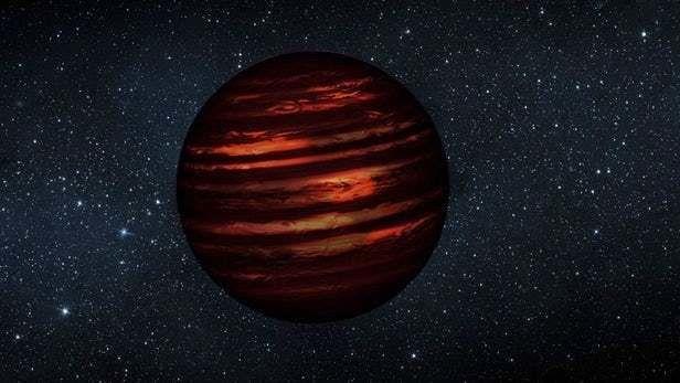 الأقزام البنية النجوم