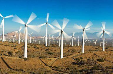 أوروبا قادرة على تزويد العالم كله بالطاقة من خلال طاقة الرياح في مزارعها تسخير طاقة الرياح المتجددة من أجل توليد الطاقة الكهربائية توربينات الرياح