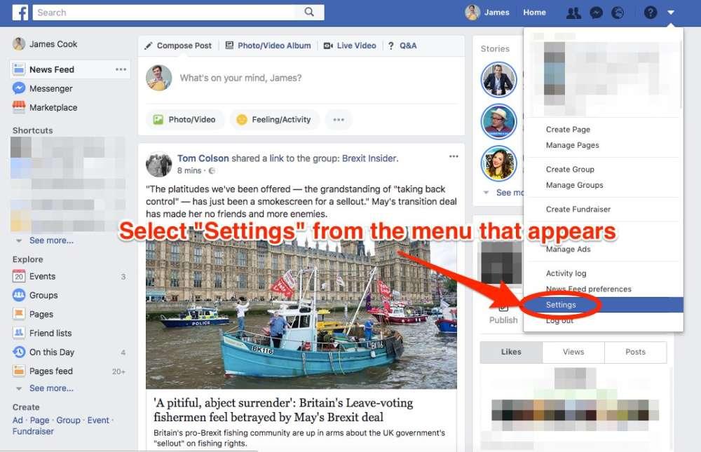 content 1521636562 2 were going to be taking a deep dive into the settings كيف تتمكن من معرفة وحظر التطبيقات التي تتتبّعك على فيس بوك؟