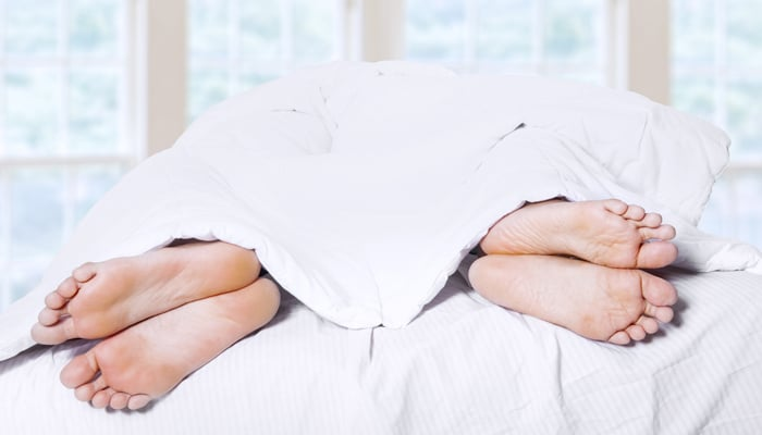 ممارسة الجنس مرة واحدة أسبوعيًا تكفي