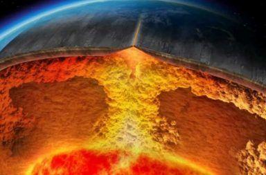 ما هي القشرة الأرضية طبقات الأرض الغلاف الصخري الوشاح نواة الأرض الجيولوجيا القشرة المحيطية القشرة القارية الأحجار اللب الطبقات الأرضية