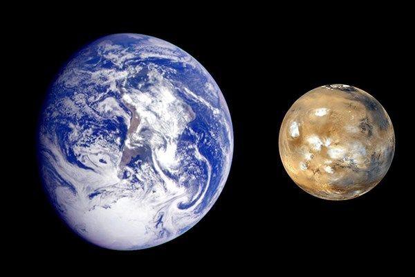 مقارنةٌ شاملةٌ بين الأرض والمريخ