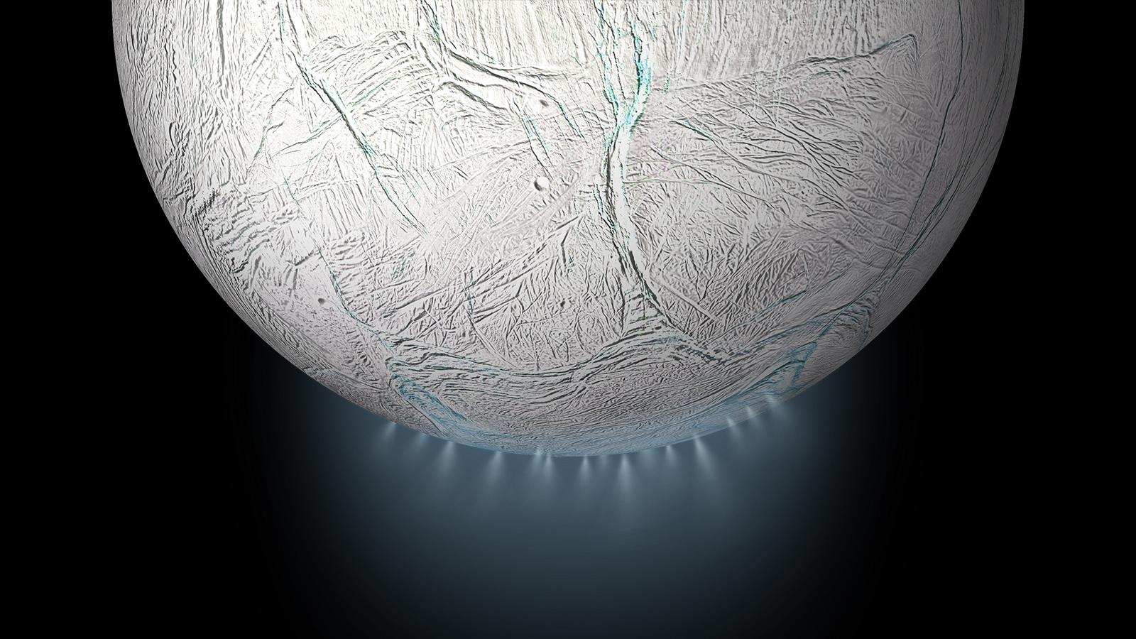 العلماء يكتشفون أدلة على وجود جزيئات عضوية معقدة على قمر زحل إنسيلادوس