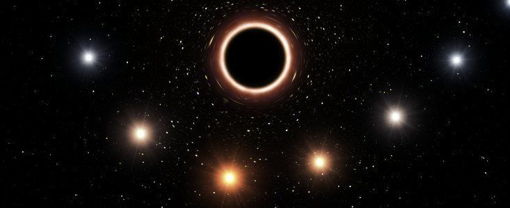 أوّل اختبار ناجح لنظريّة أينشتاين النسبيّة العامّة قرب ثقب أسود عملاق