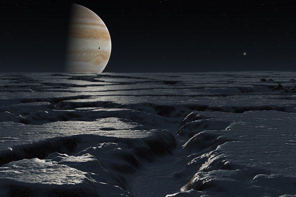أقمار غاليليو ، أقمار المشتري الأربعة