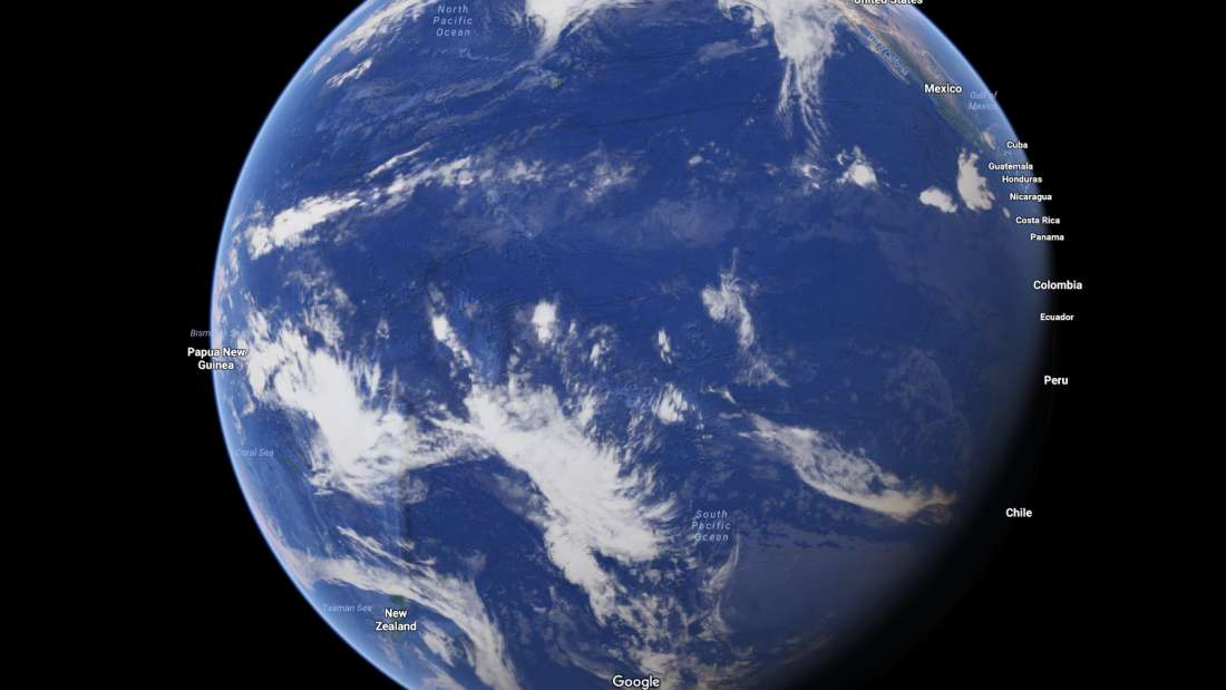 ما هي اكثر الاماكن عزلة و بعدا على كوكب الارض