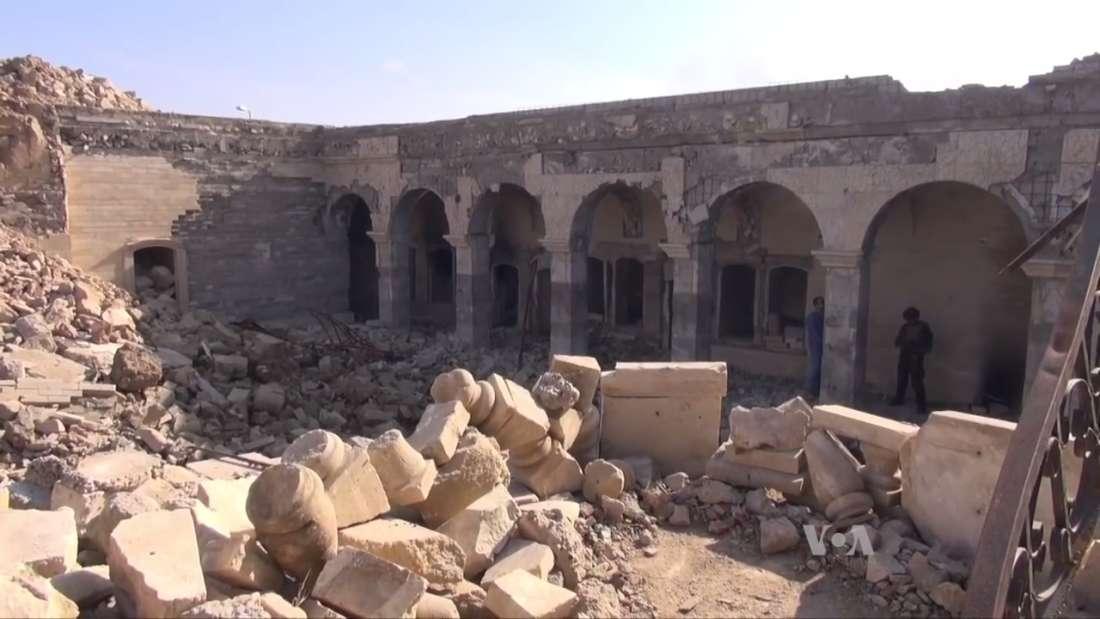 داعش فجرت هذا المعبد لكن فعلتها أدت لاكتشاف مذهل