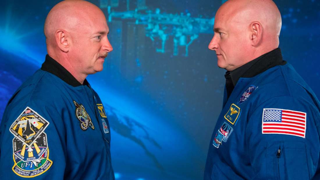 ناسا ترسل أحد التوأمين المتطابقين إلى الفضاء والنتيجة؟ لم يعودا متطابقين!